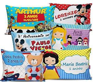 Almofadas Decorativas Personalizadas - 50 Unidades - 20x25