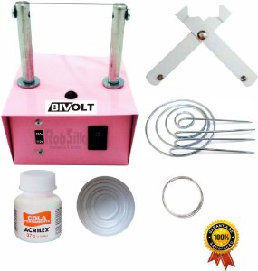 Máquina de Cortar Fita – Máquina de Fazer Fuxico - Kit Master + Brinde