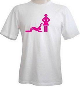 Camiseta Perdão - Branca