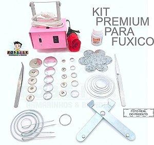 Kit Para Laços Fuxico - 32 Itens - Frete Grátis + Brindes