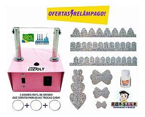 Máquina De Cortar Fita - Regua Carinha De Anjo- Flores- Top