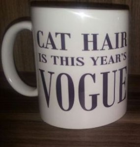 Caneca 'Cat Hair Is This Year's Vogue'