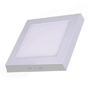 Plafon de Sobrepor LED Quadrado 18 watts (Caixa com 25 unidades)
