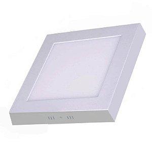 Plafon de Sobrepor LED Quadrado 18 watts
