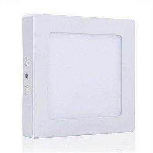 Plafon de Sobrepor LED Quadrado 18 watts (Caixa com 50 unidades)