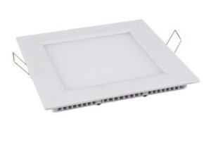 Embutido Downlight LED Slim Quadrado 12 Watts