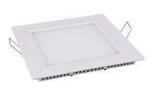 Embutido Downlight LED Slim Quadrado 12 Watts (Caixa com 50 unidades)