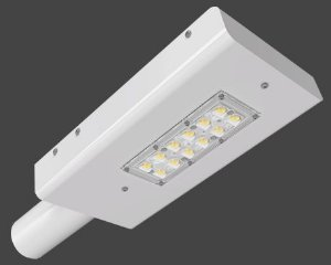 Luminária LED Pública Slim Modular 45 Watts