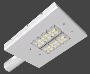Luminária LED Pública Slim Modular 113 Watts