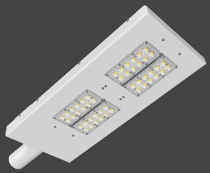 Luminária LED Pública Slim Modular 164 Watts