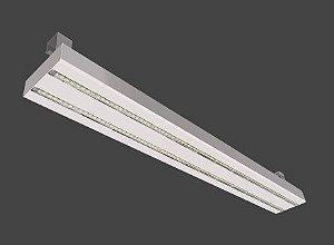 Luminária LED High Bay Linear 80 Watts/132 Watts