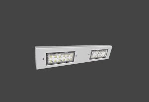 Luminária LED High Bay Modular Linear 74 Watts/113 Watts