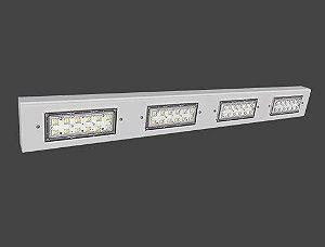 Luminária LED High Bay Modular Linear 147 Watts/222 Watts