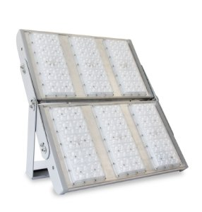 Projetor LED Modular Alta Potência 600 Watts com Lente 4x4 Cobert - LED Chip Philips Lumileds Luxeon 5050