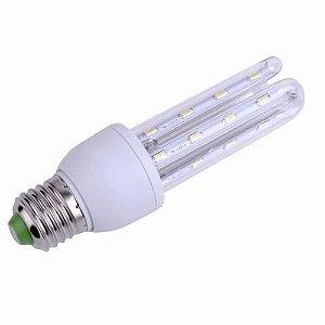 Lâmpada LED Econômica U 9 Watts (Caixa com 50 unidades)