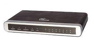 Gateway VoIP Grandstream GXW 4008 - com 8 portas FXS (GXW4008)