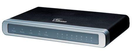 Gateway VoIP Grandstream GXW 4104 - com 4 portas FXO (GXW4104)