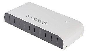 PABX Khomp NGP 822 - 08 FXS, 01 FXO e 02 GSM (NGP822-812)