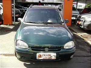 corsa gls wd 1999/1999 com: ar-condicionado, direção hidraulica, vidros e travas eletricas, limpador e desembaçador traseiro, motor 1.6