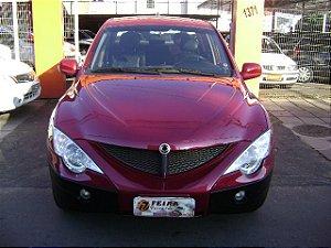 ssangyung 2011/2011 com: completo, banco de couro, motor diesel turbo