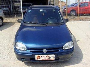 corsa wind sedan 1999/1999 com: ventilação quente e frio, desembaçador traseiro, gnv