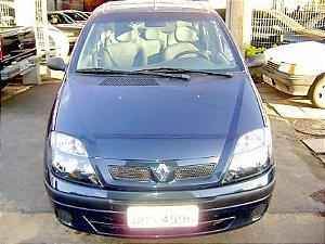 100% financiável/peça por esta condição-scenic alize 1.6 2004/2005 com ar-condicionado, direção hidraulica, vidros e travas eletricas, limpador e desembaçador traseiro, motor 1.6, airbag duplo,