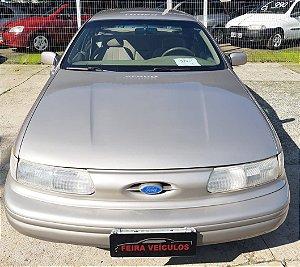 TAURUS GL V6 1995 RARIDADE COM: AR-CONDICIONADO, DIREÇÃO HIDRAULICA, VIDROS E TRAVAS ELETRIICAS, CAMBIO AUTOMATICO, RODAS DE LIGA LEVE