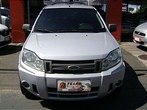 ecosport xlt 1.6 flex 2009/2009 com: ar-condicionado, direção hidraulica, vidros e travas eletricas, limpador e desembaçador traseiro, rodas de liga leve, motor 1.6