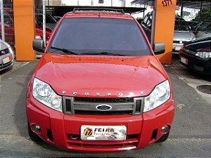 ecosport xlt 1.6 2007/2008 com: ar-condicionado, direção hidraulica, vidros e travas eletricas, limpador e desembaçador traseiro, motor 1.6 flex