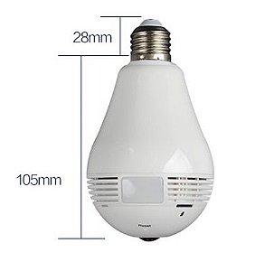 Camera IP tipo lampada