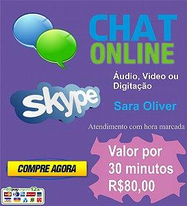 Consultoria Online Via CHAT - Sara Oliver