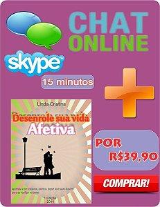Chat Online + E-book Desenrole sua vida afetiva