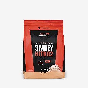 3 Whey Nitro 2 Rf 900g Baunilha