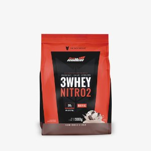 3 Whey Nitro 2 Rf 900g Cookies e Cream