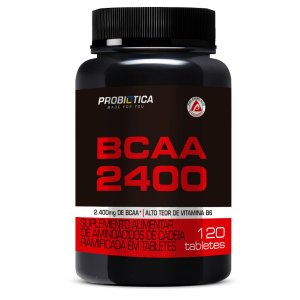 Bcaa 2400 Pt 120 Tabs Probiotica