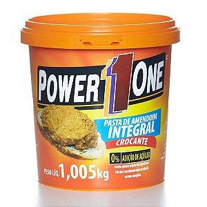 Pasta De Amendoim 1kg Power1one Crocante