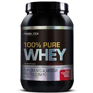 100% Pure Whey 900g Pt Iogurte Com Morango