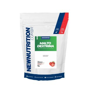 Malto Dextrina 1kg Morango Newnutrition