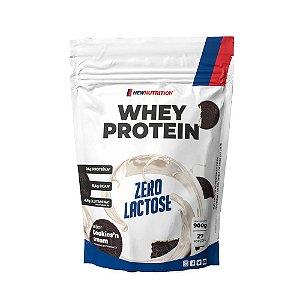 Whey Zero Lactose 900g Cookies e Cream Newnutrition