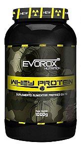 Whey Protein 1kg Morango Evorox