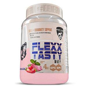 Flexx Tasty Whey 900g Strawberry Mousse