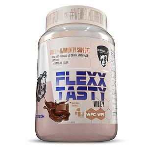 Flexx Tasty Whey 900g Dark Swiss Chocolate