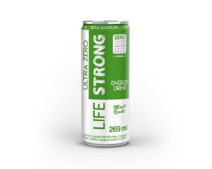 Life Strong Energy Drink 269ml Maca Verde