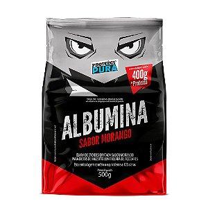 Albumina 500g Morango Proteina Pura