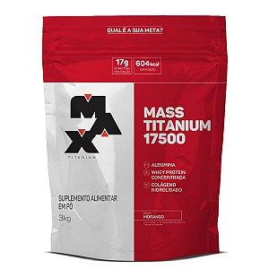 Mass Titanium 3kg Morango