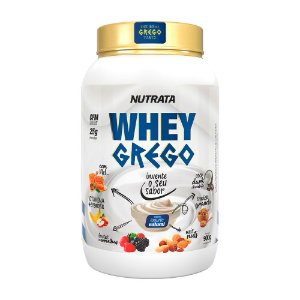 Whey Grego 900g Natural Nutrata