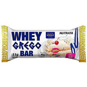 Whey Grego Bar 40g Bolo De Festa