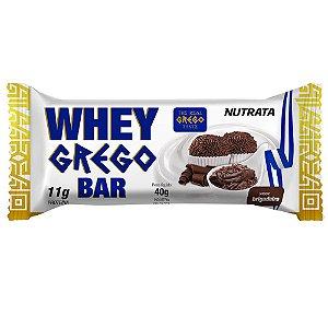 Whey Grego Bar 40g Brigadeiro