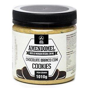 Pasta De Amendoim 1kg Choc/bran C/ Cookies