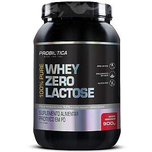 100% Pure Whey Zero Lactose Pt 900g Morango
